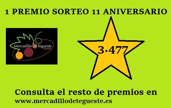 Premios en Mercado del agricultor de Tegueste