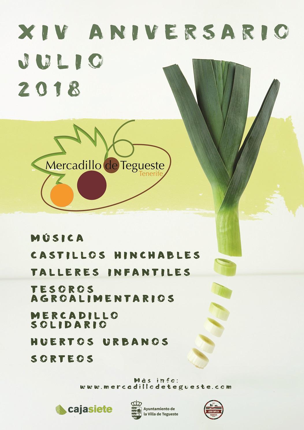 14 años del Mercado del Agricultor de Tegueste