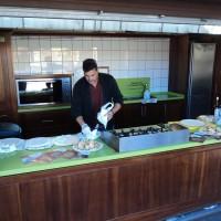 Degustación de productos en Mercadillo de Tegueste