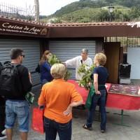 Comida sana y mercado del agricultor de Tegueste