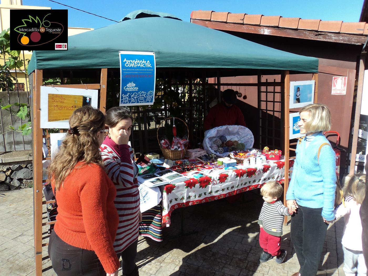Solidaridad en Mercado del Agricultor de Tegueste