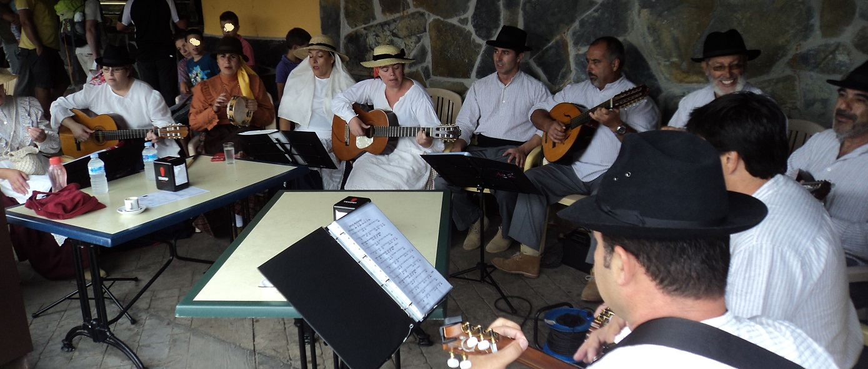 Parranda Azoca en Mercadillo de Tegueste