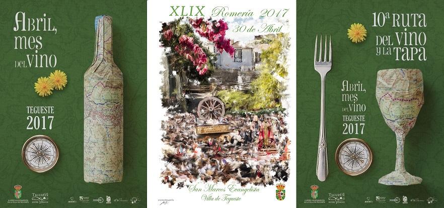 Abril mes del vino en Tegueste 2017