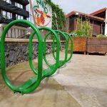 Aparca bicicletas en el Mercadillo de Tegueste