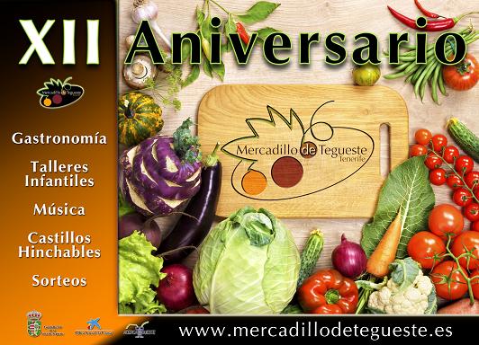 Mercado del Agricultor de Tegueste Aniversario