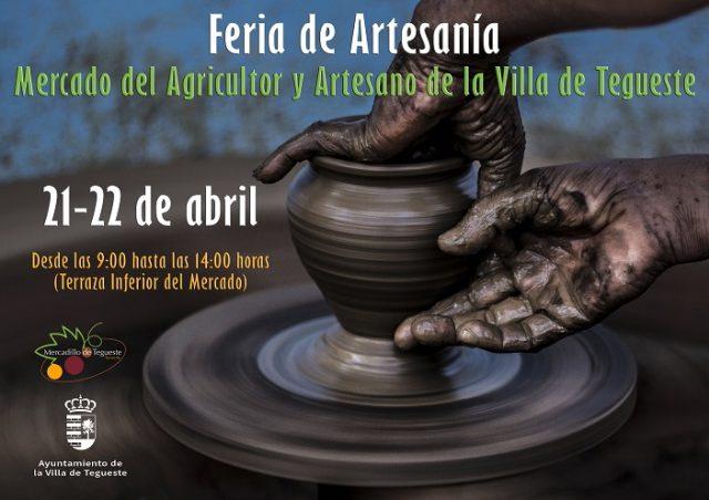 Feria de artesanía Abril 2018 en Mercadillo de Tegueste
