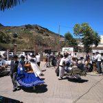 Disfrutamos del folclore canario en Mercadillo de Tegueste
