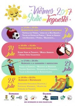 Divertirse en julio en Tegueste