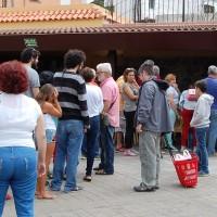 El aguacate deslumbra en el Mercado del agricultor de Tegueste