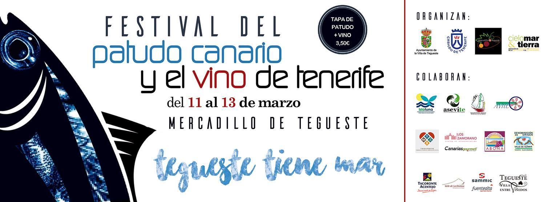 Patudo canario y el vino de Tenerife
