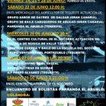 Folclore de Gran Canaria y Tenerife en Mercadillo de Tegueste