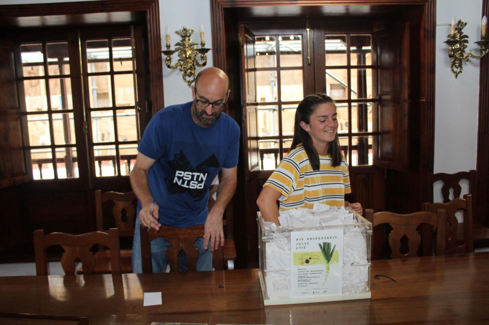 Ganadores del sorteo 14 Aniversario del Mercadillo de Tegueste