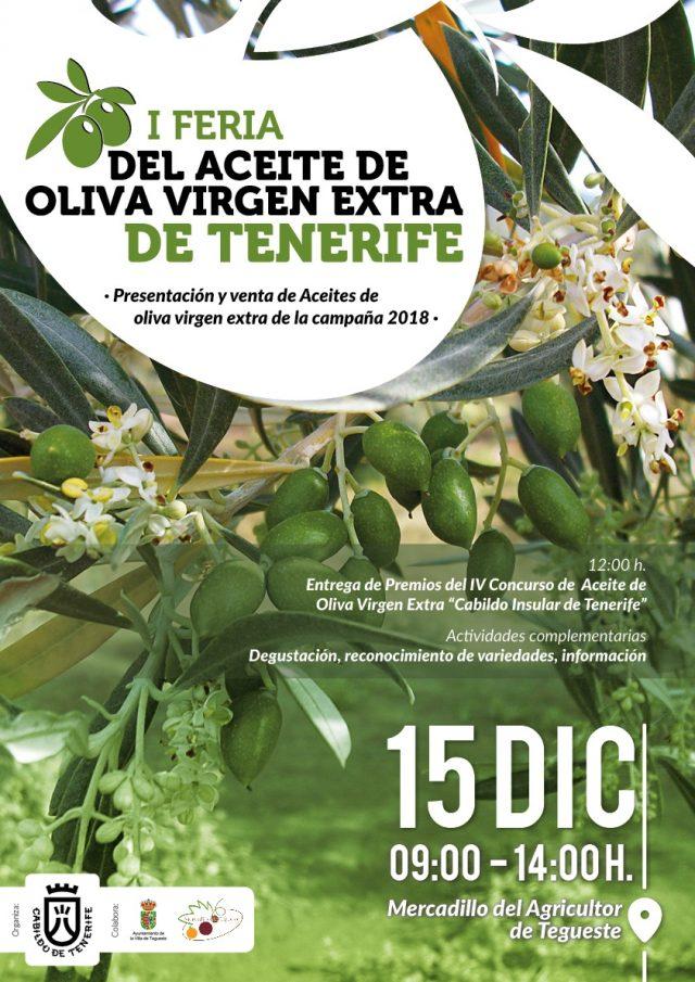 I Feria del Aceite de Oliva Virgen Extra de Tenerife en Mercadillo de Tegueste