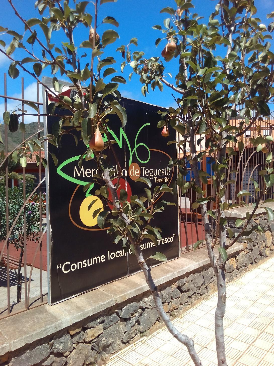 Las peras te esperan en Mercadillo de Tegueste