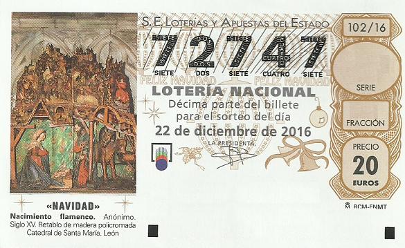 Lotería de navidad con fines sociales en Mercadillo de Tegueste