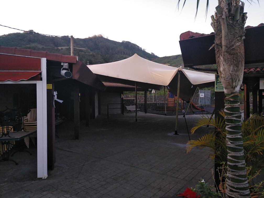 Mejora en las instalaciones del Mercadillo de Tegueste