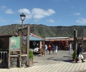 Panorámica mercado del agricultor de Tegueste