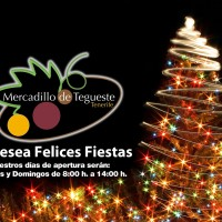 Christmas in Tegueste farmer´s market