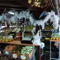 Mercado del agricultor de Tegueste en Navidad