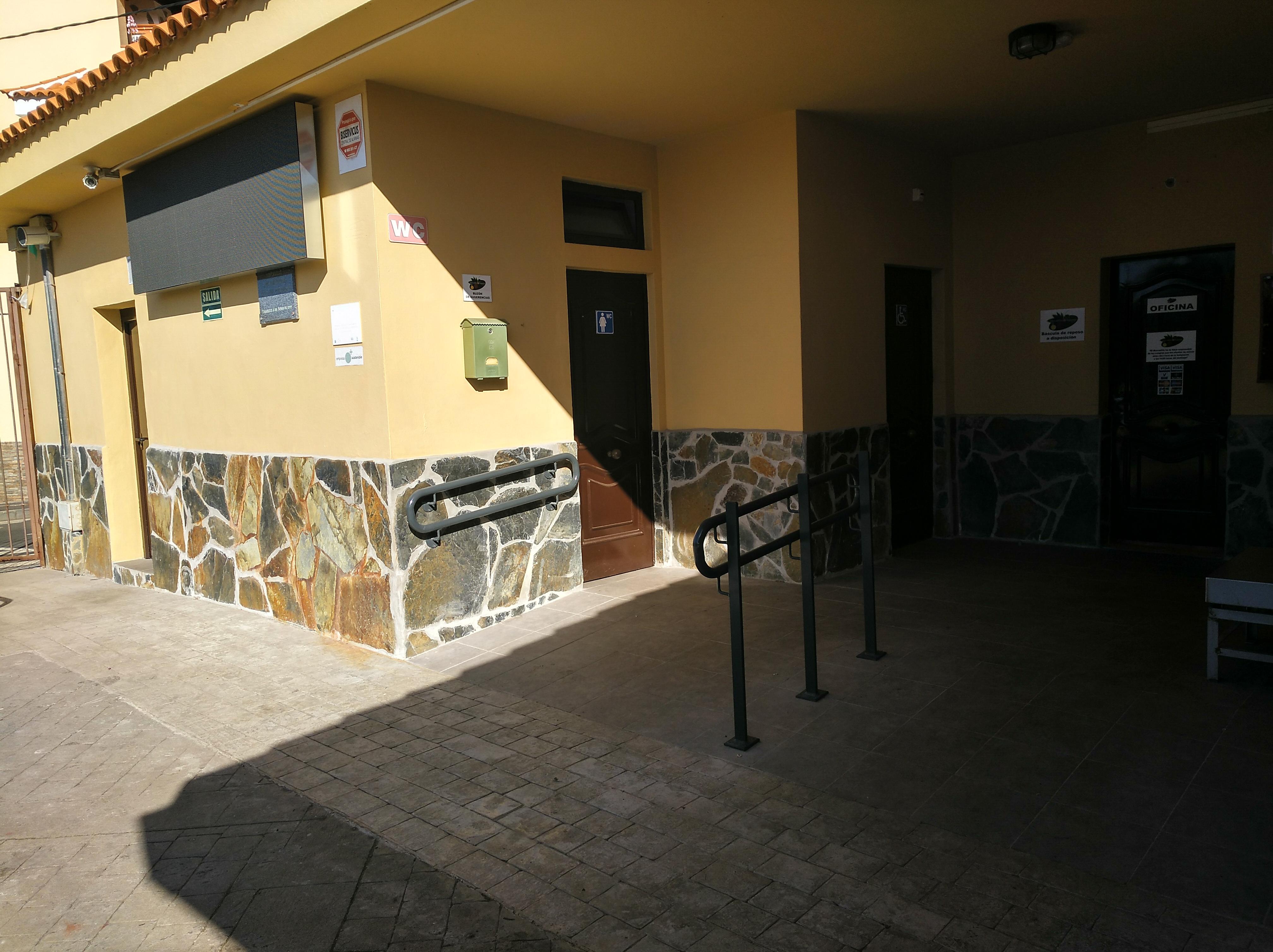 Nuevas mejoras en las instalaciones del Mercadillo de Tegueste