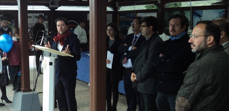 Patudo canario y el vino de Tenerife inauguración PRES CABTFE