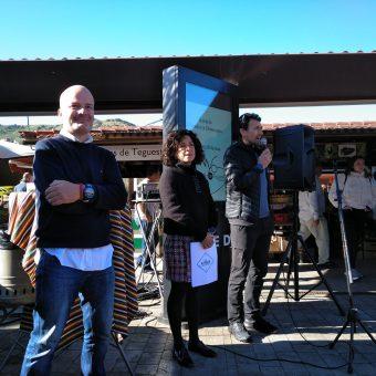 Presentación de APEN en el Mercadillo de Tegueste