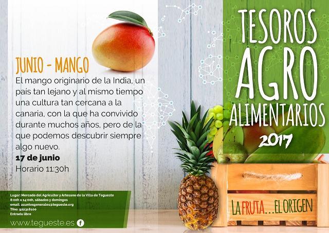 Producto local de Tenerife en Mercadillo de Tegueste MANGO