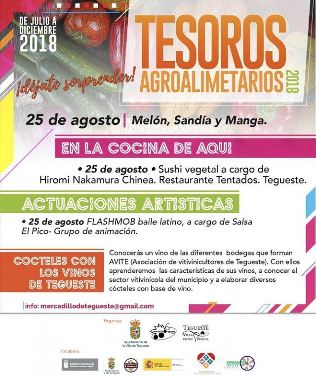 Producto local y flashmob en el Mercadillo de Tegueste