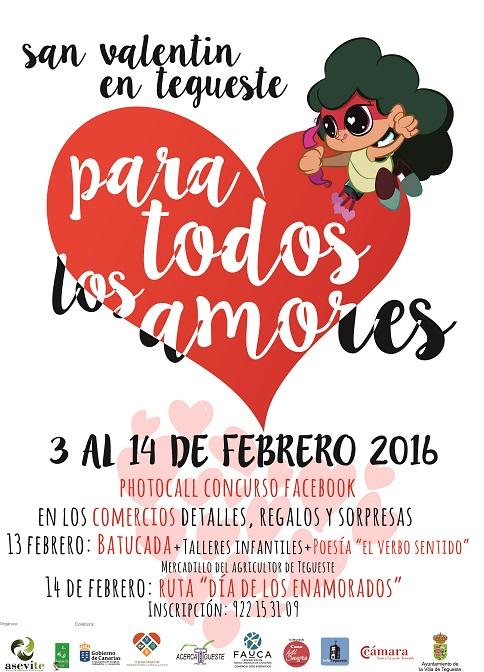 San Valentín Carnavalero en Mercadillo de Tegueste