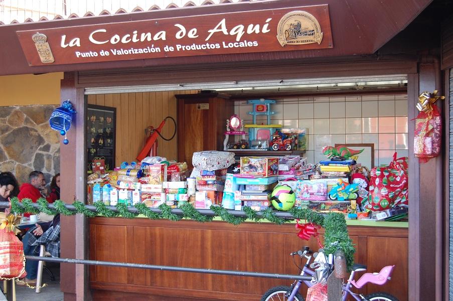 Solidaridad a raudales en Mercado del Agricultor de Tegueste