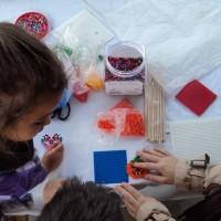 Hama beads en Mercadillo de Tegueste