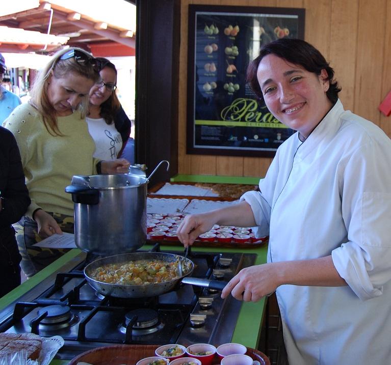 Bubangos, calabacines y calabazas en Mercadillo de Tegueste