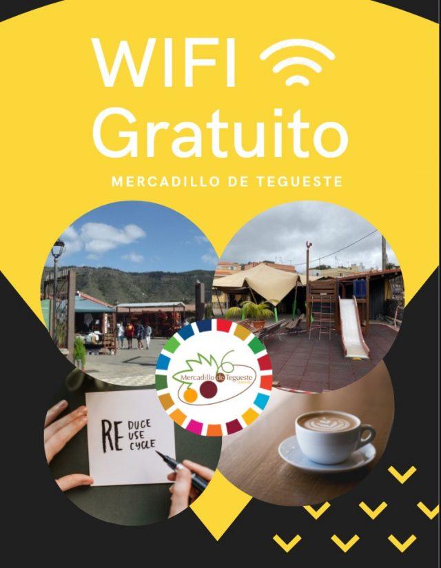 WiFi gratuita en el Mercadillo de Tegueste