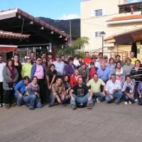 Familia del Mercado del Agricultor de Tegueste
