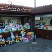Recogida juguetes en Mercadillo de Tegueste
