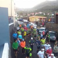 Carrera solidaria en Mercadillo de Tegueste