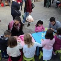Talleres infantiles en Mercadillo de Tegueste