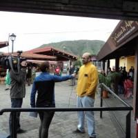 TV Canaria en Mercadillo de Tegueste